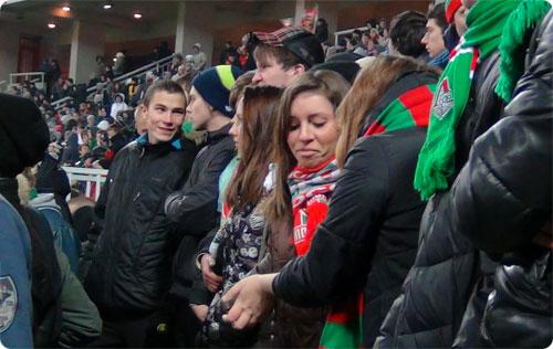 Локомотив фанаты