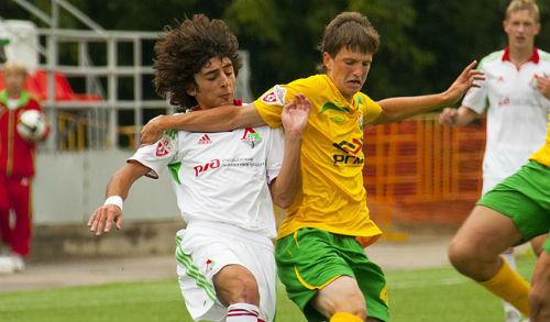 Молодёжные команды «Локомотива» и «Кубани» встретятся в Москве