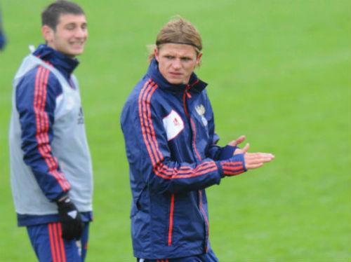 Тарасов впервые отличился за сборную
