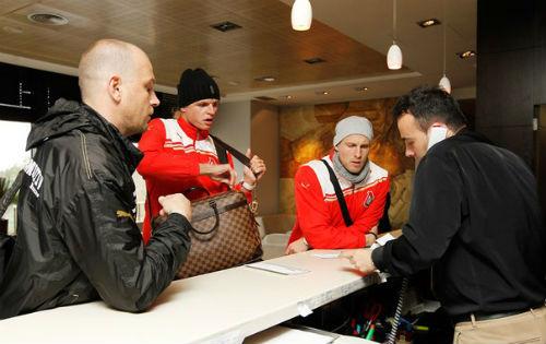 «Локомотив» прилетел в Испанию без Бурлака