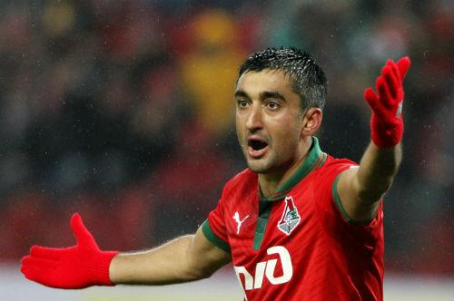 Самедов стал лучшим игроком месяца в «Локомотиве»