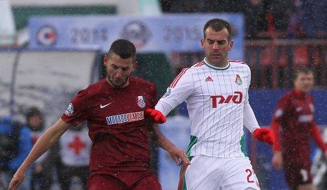 матч «Мордовия» «Локомотив»